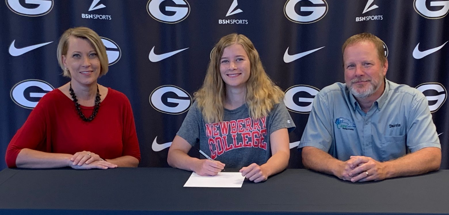 Haley Harris Signs Letter of Intent