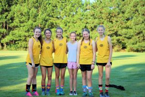 Cross Country @ Chuck Parker Relays on 8-17-19