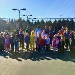 GHS Tennis Players Volunteer for Greenwood Area Tennis Association