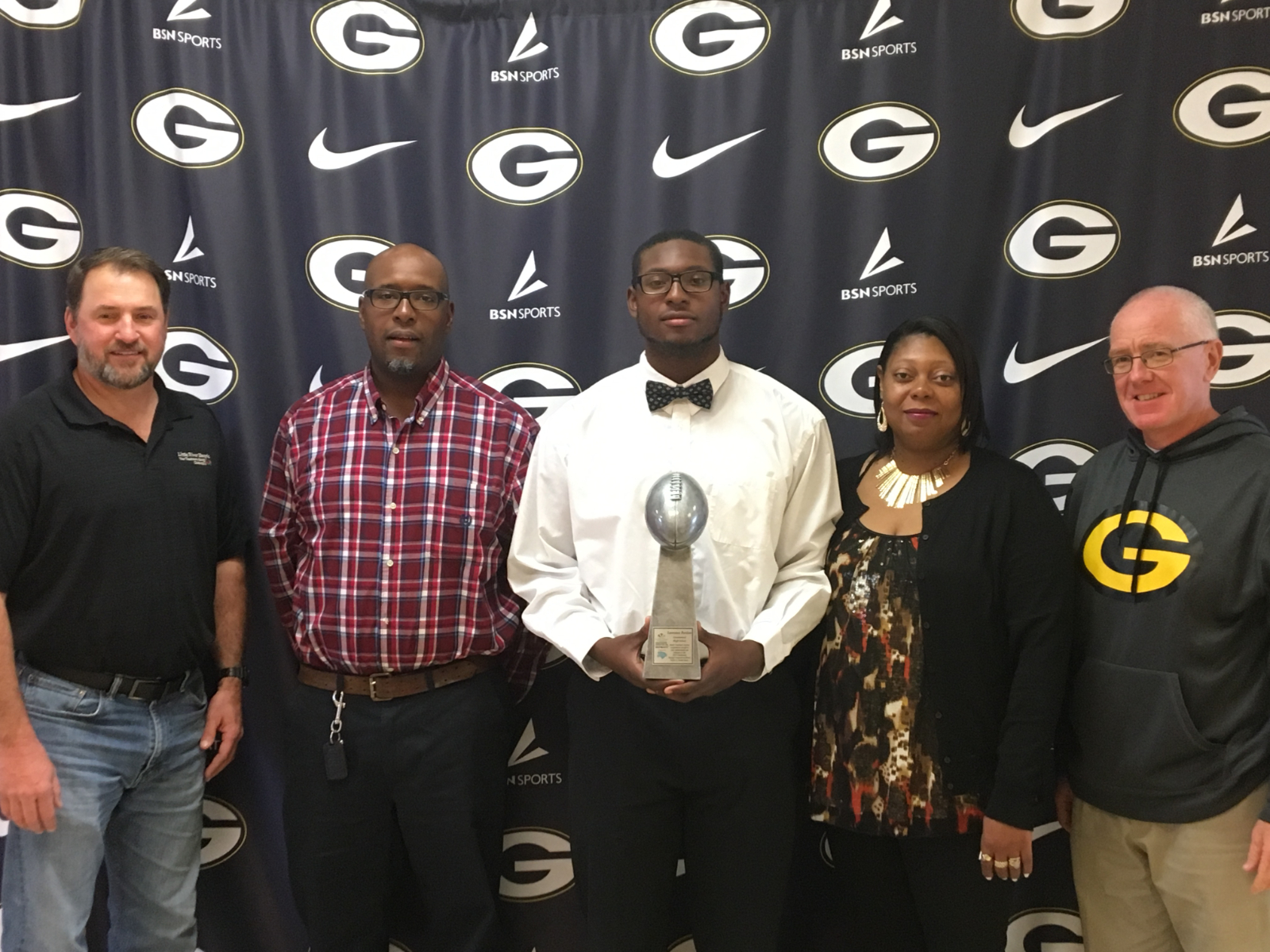 Lawrance Partlow to Participate in 2019 North / South All Star Football Game