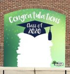 Graduation Backdrop at Uptown Market