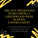 20-21 Cheer Interest?