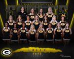 20-21 V Football Cheer Team Photo