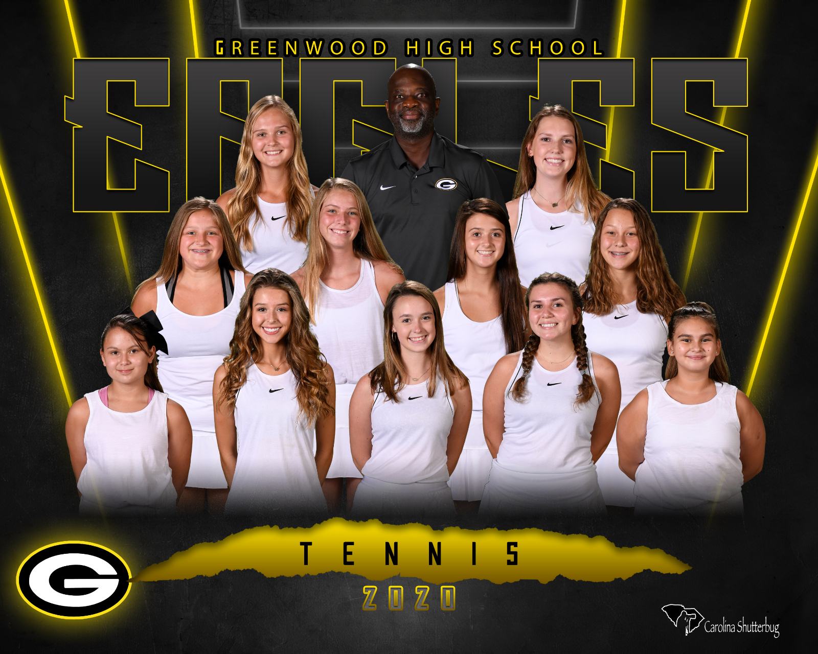 20-21 Girls Tennis Team Photo