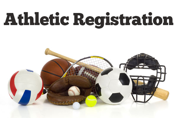 Register Now For Spring Sports!!