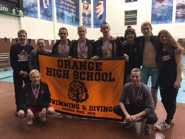 OHS Swim/Dive Finishes Strong at Districts; Advances to State in Multiple Events