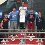 Varsity Wrestling finishes 25th place at Alliance District Wrestling Championships