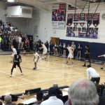 Boys Varsity Basketball falls to West Geauga Local Schools 54 – 45