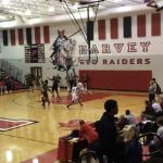 Boys Varsity Basketball falls to Painesville Harvey Heritage Schools 56 – 53