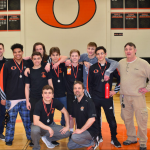 Lions Varsity Wrestling Team Places 2nd out of 9 teams at the 3rd Annual Audrey Genovese Memorial Tournament