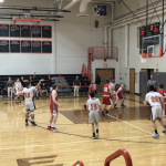 Boys Freshman Basketball clinches perfect conference record in win over Perry Local Schools