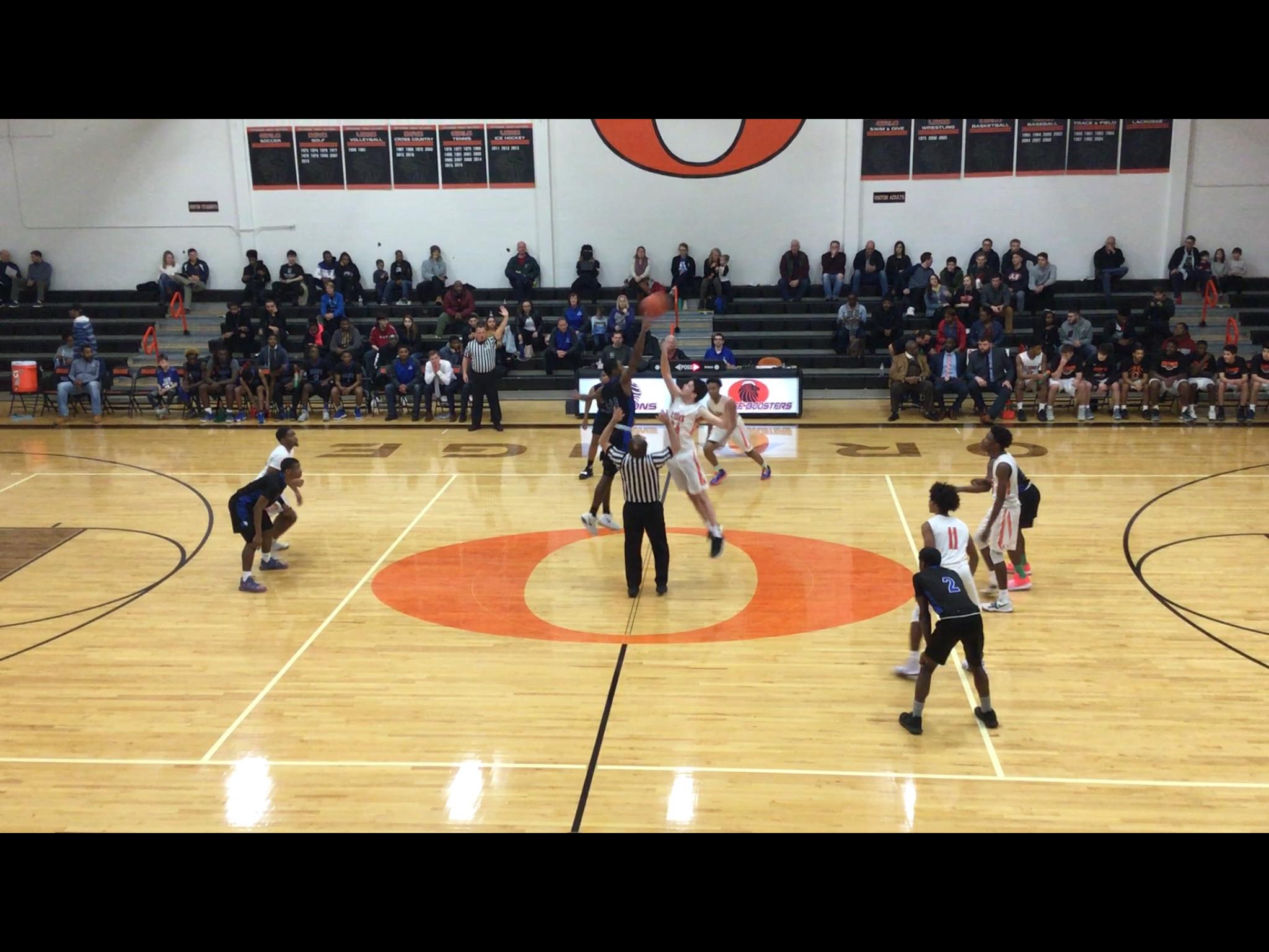 Boys Varsity Basketball beats Saint Martin De Porres 78 – 47