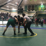 Orange Varsity Wrestling Team will be sending two wrestlers to Northeast District Wrestling Championships