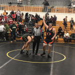 Orange Lions Wrestling Team gets two champions at the Riverside Rumble Wrestling Tournament.
