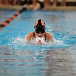 Lions Compete at a Packed Orange Swim/Dive Invitational