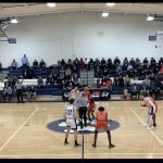 Boys Varsity Basketball falls to West Geauga Local Schools 57 – 49