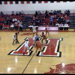Boys Varsity Basketball falls to Painesville Harvey Heritage Schools 52 – 33