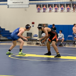 Lions Varsity Wrestling Team goes 1-1 at Independence Tri Meet