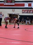 Varsity wrestling team wins first two dual meets of the season