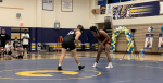Varsity wrestling team comes up short against Copley and Massilon Perry
