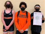 Orange Varsity Wrestling Team will take 3 qualifiers to Norwalk District