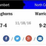 #8 North Cobb vs Lambert