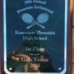 Girls Varsity Tennis beats Lowndes 4 – 1