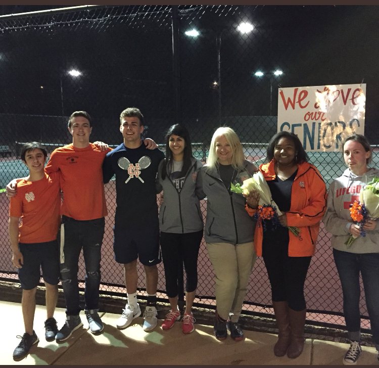 Congratulations and Thanks to our Senior Warrior Tennis Players