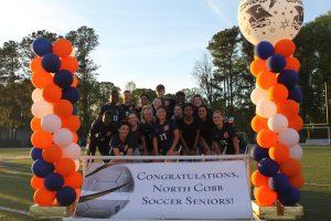 NCHS Soccer Senior Night 2019