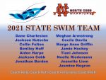 NCHS State Swim & Dive Team at GHSA Championships Feb 6, 2021