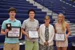 NCHS Swimmers Dane Charleston, Jackson Kutsche & Meghan Armstrong Recognized by CSCA