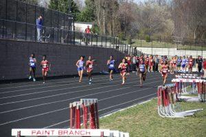 2016 Track against Magruder Springbrook