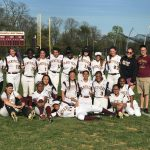 Varsity Softball beats Wheaton 23 – 0