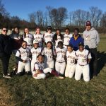Varsity Softball beats Rockville 16 – 7