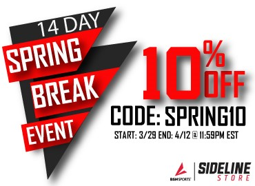 Get 10% off Spirit Wear from 3/29-4/12