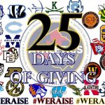 MCPS Athletic Directors begin 25 days of giving