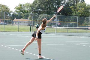 Ladies Tennis 083117 vs McNick