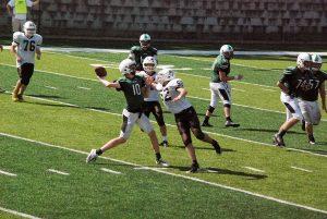 Spartan JV Football vs Badin 092317