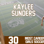 Kaylee Sunders '18 breaks assists record!