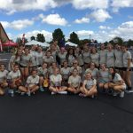 Girls Soccer team volunteer at TOP Soccer Classic