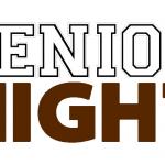 #SeniorNight schedule