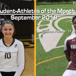 Student-Athletes of the Month!