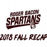 2018 Fall recap
