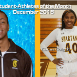 December Student-Athletes of the Month!