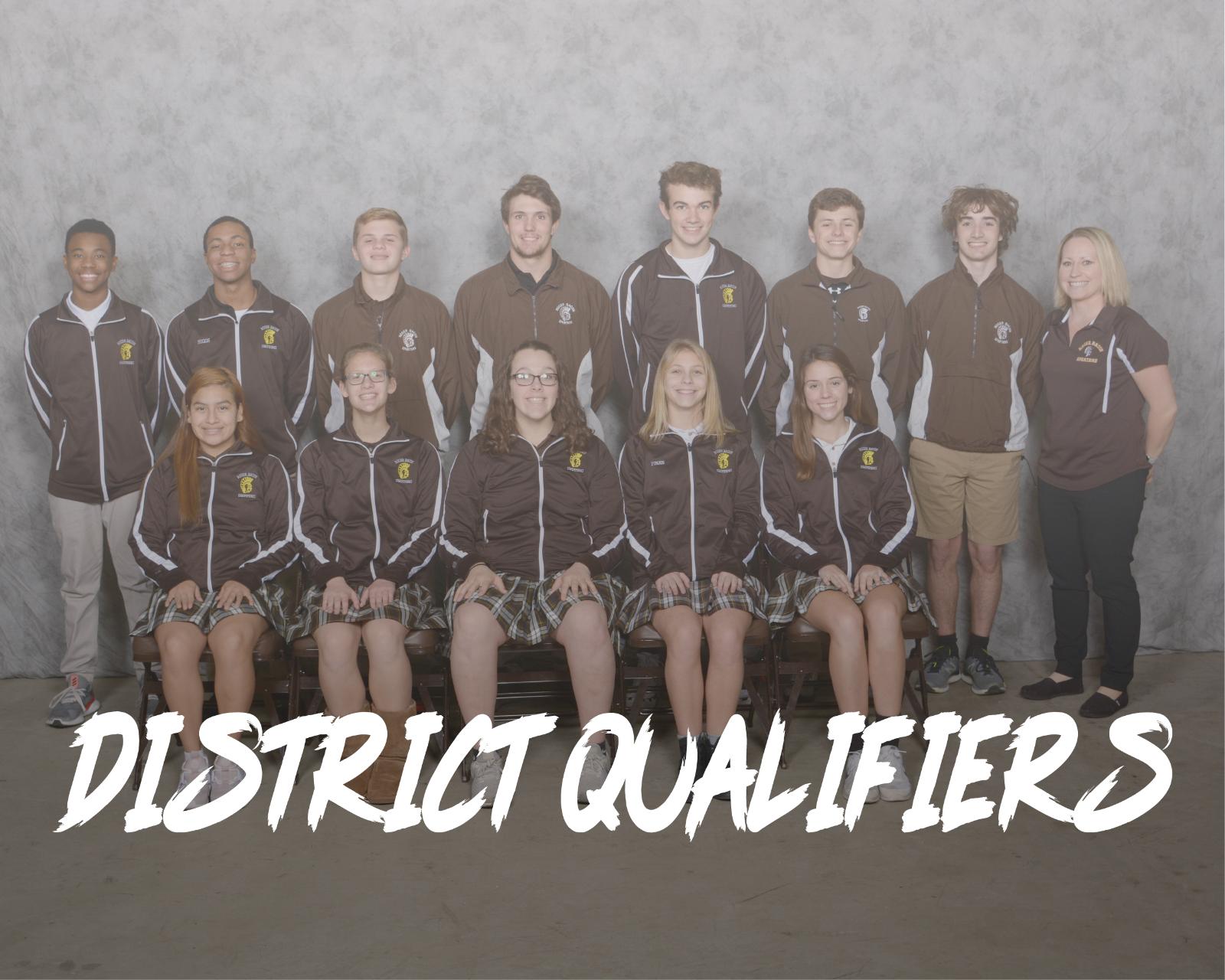 District Qualifiers!