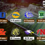 2019 Football Schedule Released
