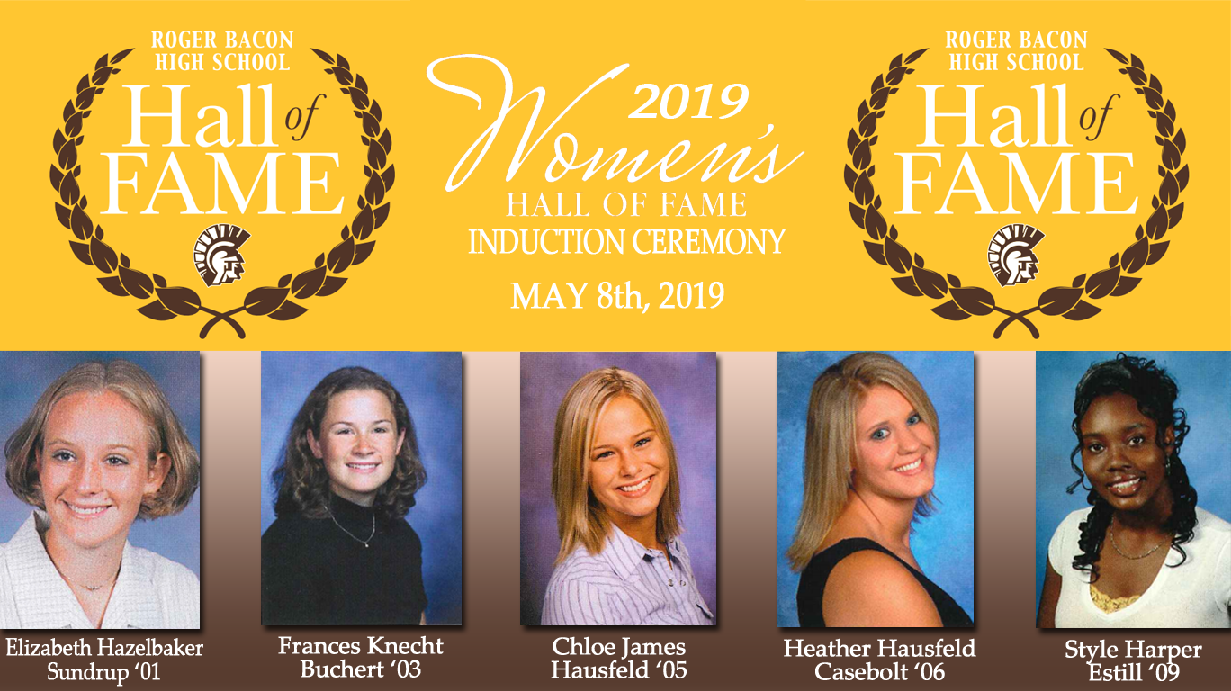 2019 Women's Hall of Fame Induction Ceremony!