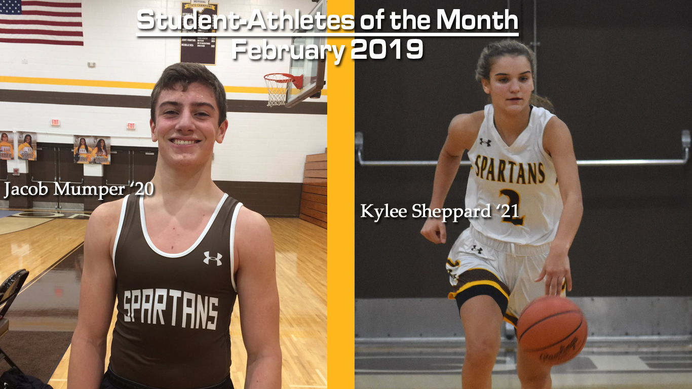 February Student-Athletes of the Month!