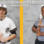 March Student-Athletes of the Month!