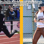 April Student-Athletes of the Month